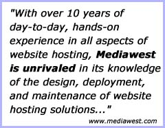 Mediawest: Unequaled knowledge and experience.